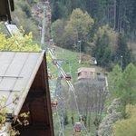Estação de esqui próxima