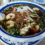 Seafood Thai Noodle Soup