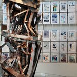 9/11 Gallery with news headlines