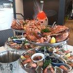 beaux plateaux de fruits de mer