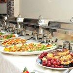 Special occation buffet arrangement