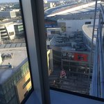 View of Nokia Theater and Staples Center from Jr Suite