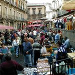 Discovering Catania Fish market