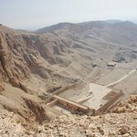 Temple of Hatshepsut from above