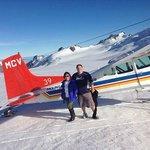 Our ski plane