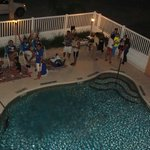 Fiesta en la Alberca!! El Hotel nos organizo una fiesta en la alberca para los participantes.