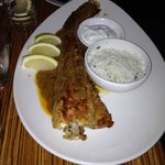 Whole fish with Chermoula spices