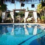 Outdoor Pool with Tiki Bar