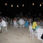 Wedding Reception at the French Beach area