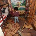 Pirate themed children's bedroom