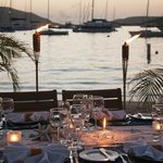 Private Beach Dinner for a bigger group at the Bitter End Yacht Club (boat crews welcome)