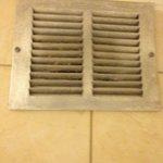 HVAC vent over bathtub