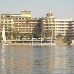 A view of Steigenberger Nile Palace from the NIle