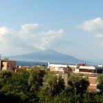 Mount Versuvio from the bedroom