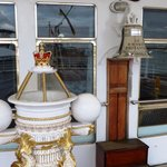 The Ships Bell on the Quarter Deck