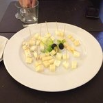 Don't ask for cheese plate!!! The price is 180CZK for 5 kinds of cheese! But you will get just 3
