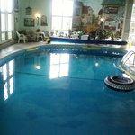 pool scene facing South