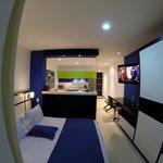 Loft Suite en 2 ambientes + balcón (opcional)