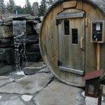 Un des sauna sec