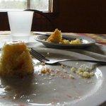 hmmmm la nourriture était super bonne!