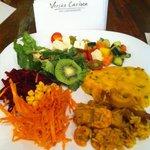 My idea of a decent, fresh lunch at Versão Carioca