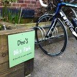 bike parking at dinos