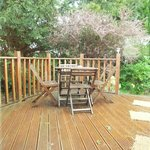 Tay Lodge Decking Area