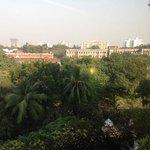 view from my room across Kolkata