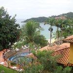 Puede verse desde la hab. la piscina, el restaurante y la playa