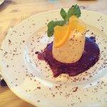 tasty dessert, Iced Nougat