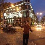 In front of Vondel Park