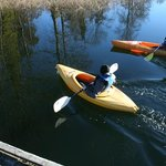 Kayaking at Green Acres Resort, Salt Spring Island