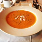 The lobster bisque!