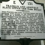 Franklin and Armfield Slave Office
