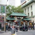 San Francisco China Town Entrance