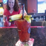 Fantastic Bloody Mary's .