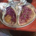 fish tacos during lent. yum!