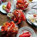 Plenty of lobster