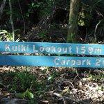 Kulki Lookout sign
