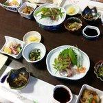 関アジは美味しかったです。