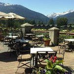 The best patio in Whistler