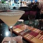 lemon drop martini - it was sickening sweet :(