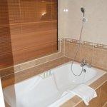large bath!