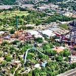 aerial Picture of Busch Gardens Tampa