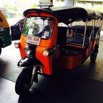 Free tuk-tuk service from hotel to nearest sky train station