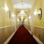 Refurbed hallway