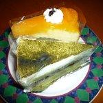 抹茶&オレンジケーキ
