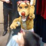 Em uma das noites teve o Teatro de marionetes Guarujá. Voltamos à infância!