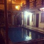 Pool at oasis hostel