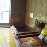 飲泉と冷鉱泉